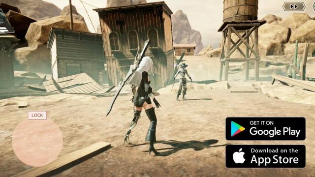 Bản Mobile của NieR: Automata đã có tiếng Anh, cho đăng ký trước trên cả Android và iOS, dự kiến ra mắt sớm - Ảnh 1.