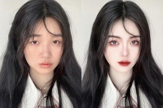 Nhan sắc con gái trước và sau photoshop: Không có cái nịt vẫn ảo lòi - Ảnh 2.