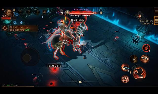 Cận cảnh 6 phút chiến đấu với trùm King Leoric trong Diablo Immortal - Ảnh 1.
