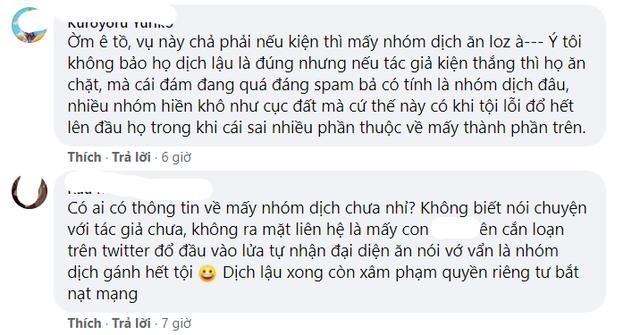 Vừa tuyên bố khởi kiện nhóm dịch lậu Việt Nam, tác giả webtoon 18+ lập tức bị... report bay tài khoản MXH - Ảnh 10.