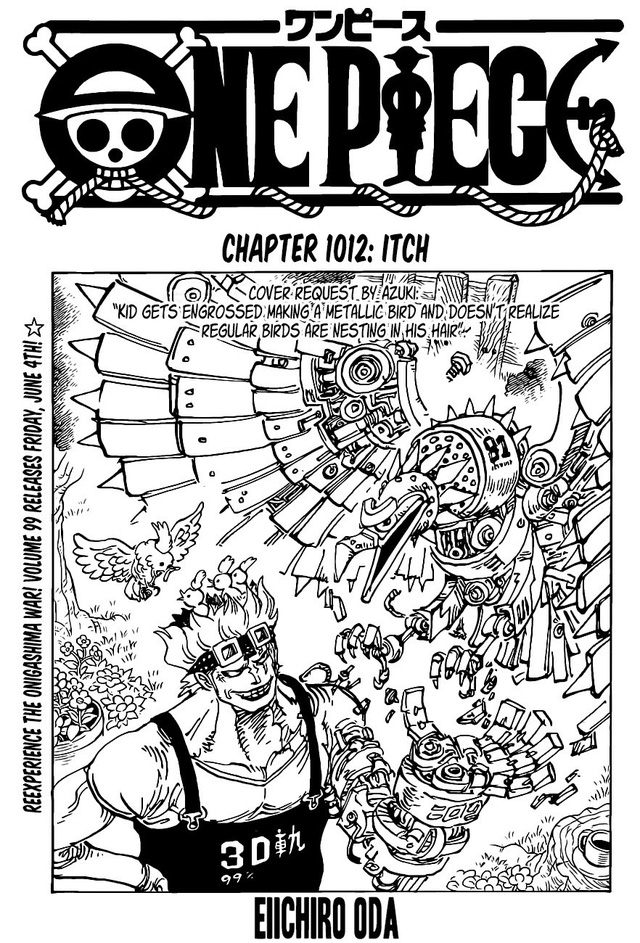 One Piece chap 1012 tiết lộ manh mối về cái chết của Kid, thánh đồng nát chỉ có 1% cơ hội sống sót? - Ảnh 1.