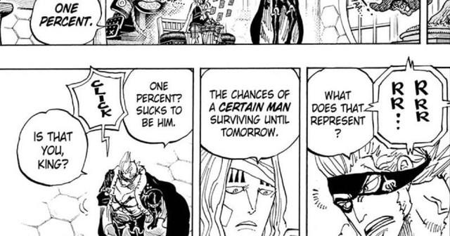 One Piece chap 1012 tiết lộ manh mối về cái chết của Kid, thánh đồng nát chỉ có 1% cơ hội sống sót? - Ảnh 3.