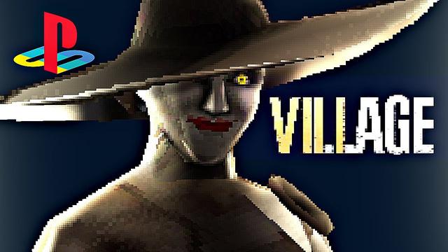 Sẽ thế nào nếu Resident Evil Village có phiên bản PS1, nhìn Lady Dimitrescu thế này mới đúng là kinh dị - Ảnh 1.