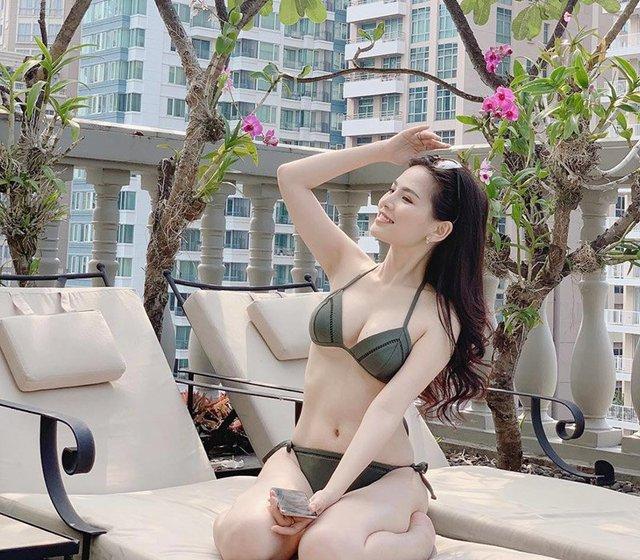 Hot girl Mỳ Gõ một thời khoe nhan sắc ấn tượng, vòng một siêu đẹp khiến nhiều người cảm thán - Ảnh 3.