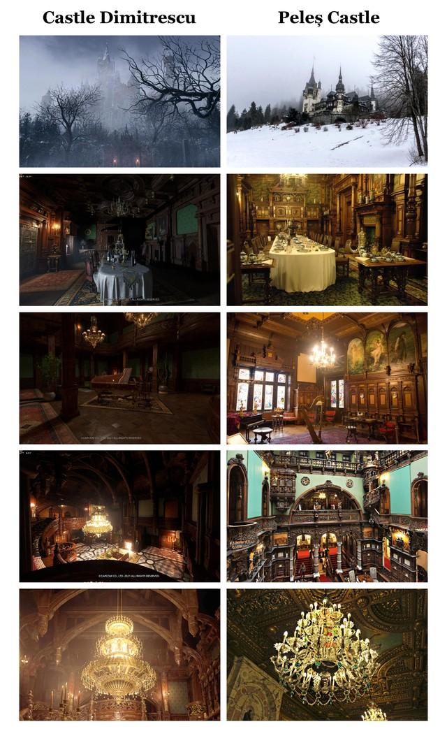 Chiêm ngưỡng lâu đài Dimitrescu trong Resident Evil Village ngoài đời thật, nguy nga, tráng lệ không kém gì game - Ảnh 2.
