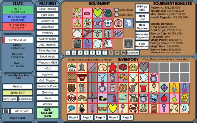 """NGU IDLE – Tựa game tên hơi nhạy cảm"""" nhưng lại dành cho người chơi thông minh - Ảnh 2."""