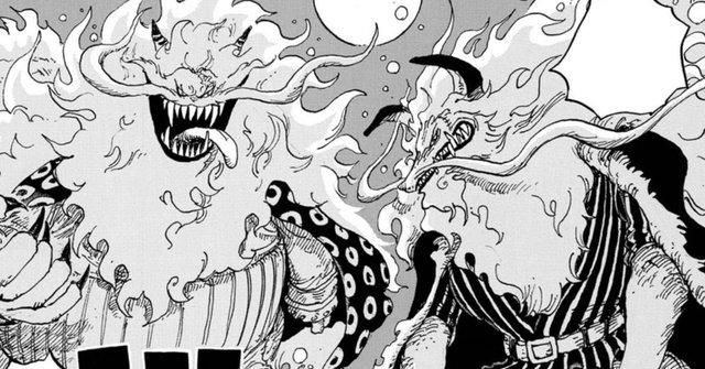 Cùng soi những chi tiết thú vị trong One Piece chap 1012: Cửu Hồng Bao tách nhóm, Denjiro đã đi đâu? - Ảnh 5.