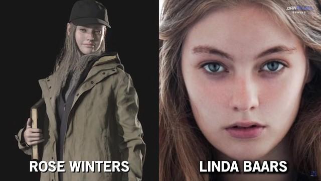 Gặp gỡ hình ảnh đời thực của các nhân vật trong Resident Evil Village, toàn trai tài gái sắc - Ảnh 6.
