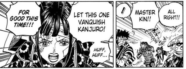 Cùng soi những chi tiết thú vị trong One Piece chap 1012: Cửu Hồng Bao tách nhóm, Denjiro đã đi đâu? - Ảnh 9.