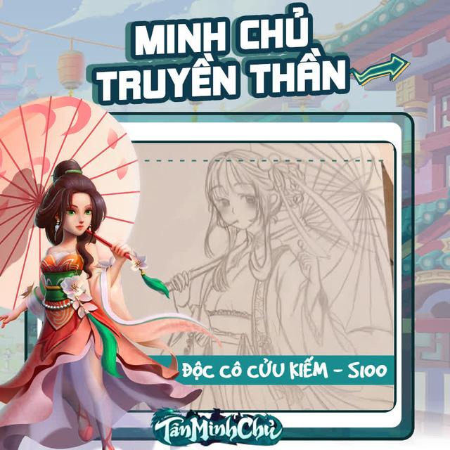 Mỹ nhân truyện Kim Dung trong mắt game thủ Việt: Cô Cô đùi gà là chân ái, từ cosplay cho tới hội họa đều đốn gục 500 anh em Tân Minh Chủ - Ảnh 10.