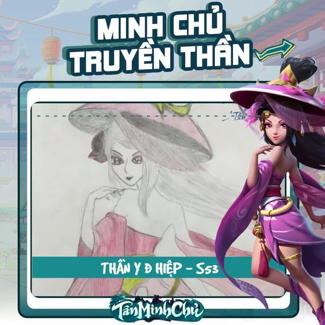 Mỹ nhân truyện Kim Dung trong mắt game thủ Việt: Cô Cô đùi gà là chân ái, từ cosplay cho tới hội họa đều đốn gục 500 anh em Tân Minh Chủ - Ảnh 11.