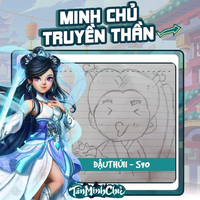 Mỹ nhân truyện Kim Dung trong mắt game thủ Việt: Cô Cô đùi gà là chân ái, từ cosplay cho tới hội họa đều đốn gục 500 anh em Tân Minh Chủ - Ảnh 16.