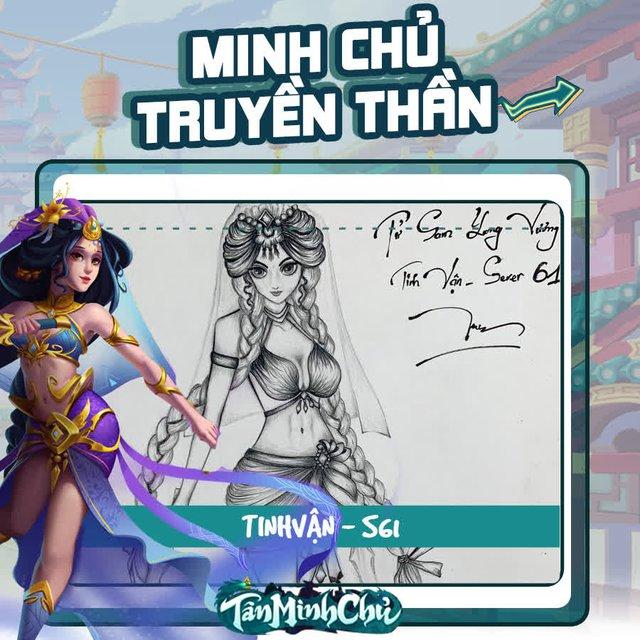 Mỹ nhân truyện Kim Dung trong mắt game thủ Việt: Cô Cô đùi gà là chân ái, từ cosplay cho tới hội họa đều đốn gục 500 anh em Tân Minh Chủ - Ảnh 15.