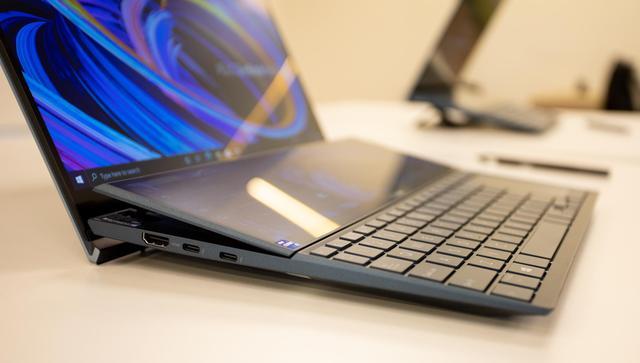 Cận cảnh ZenBook Duo 14 2021 - Laptop hai màn hình dành cho tương lai - Ảnh 4.