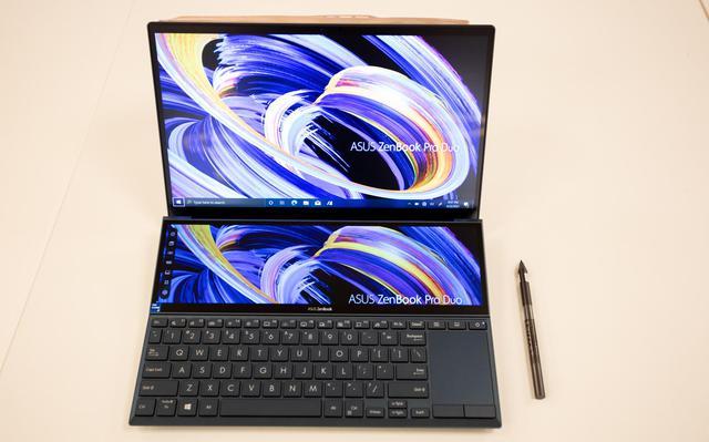 Cận cảnh ZenBook Duo 14 2021 - Laptop hai màn hình dành cho tương lai - Ảnh 6.