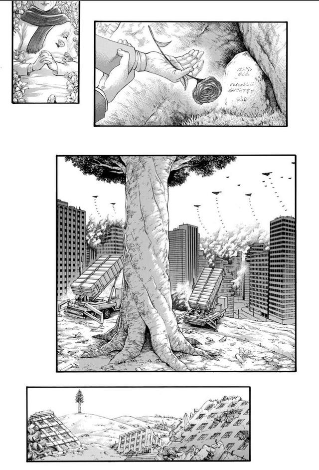 Sốc: Kết thúc thật sự Attack On Titan chap 139 đúng như lời đồn, Titan vẫn còn tồn tại, Mikasa không còn nguyên vẹn - Ảnh 5.