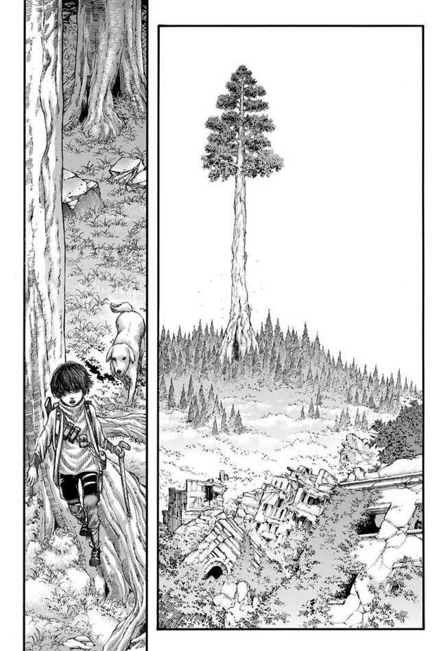 Sốc: Kết thúc thật sự Attack On Titan chap 139 đúng như lời đồn, Titan vẫn còn tồn tại, Mikasa không còn nguyên vẹn - Ảnh 6.