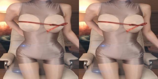Tạo content bằng cách quấn miếng lót vòng một quanh người, nữ streamer nhận án cấm kênh ngay lập tức - Ảnh 4.