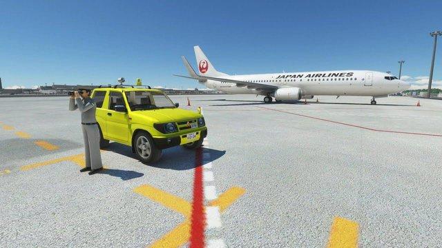 Xuất hiện mod đi vòng quanh thế giới bằng ô tô trong Flight Simulator 2020 - Ảnh 1.