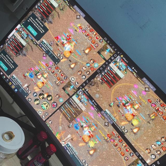 Hết cắm giả lập PC 4 tài khoản, game thủ VLTK 1 Mobile kêu trời, lo bị phá nát game vì vấn nạn auto này - Ảnh 1.