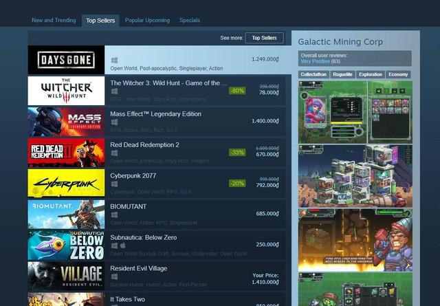 Vừa ra mắt trên PC, Days Gone đã leo lên top 1 game bán chạy Steam - Ảnh 2.