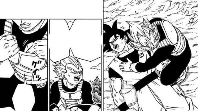 Dragon Ball Super chap 72: Trận đấu còn chưa bắt đầu, Goku đã bị Granolah hạ đo ván - Ảnh 1.