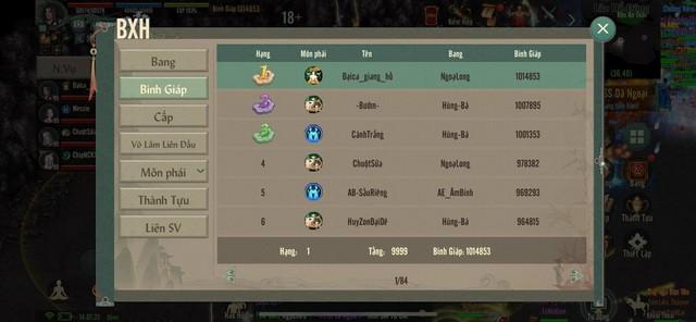 Sốc với lực chiến và số tiền nạp vào game của đại gia Top 1 server đầu tiên trong VLTK 1 Mobile - Ảnh 1.