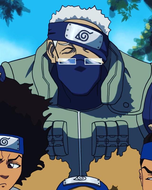 Giật mình khi thấy Kakashi đeo kính lão, Sasuke tóc xù, fan Naruto gào lên sao đội 7 gì mà xấu thế! - Ảnh 5.