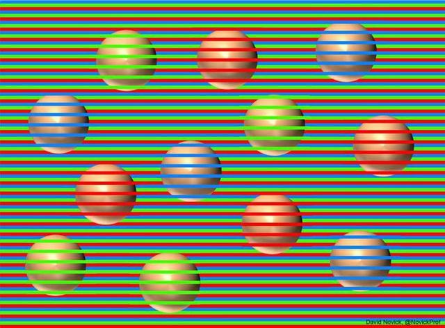 Bạn thấy những quả cầu này có màu sắc khác hẳn nhau? Thật ra chúng đều có cùng một màu - Ảnh 1.