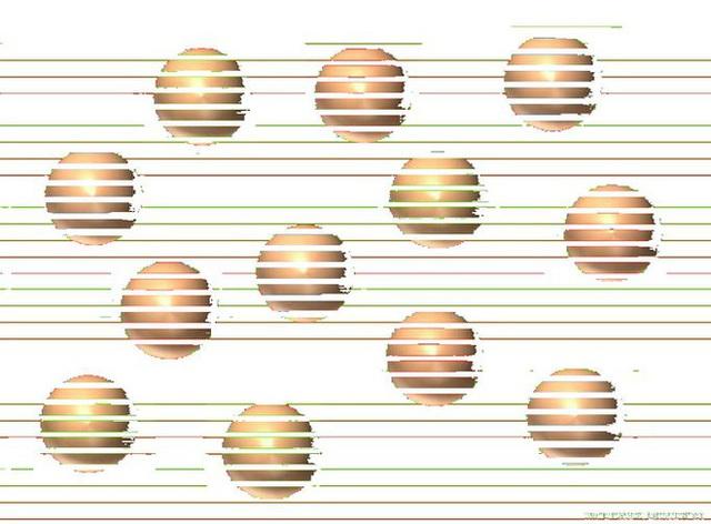 Bạn thấy những quả cầu này có màu sắc khác hẳn nhau? Thật ra chúng đều có cùng một màu - Ảnh 2.
