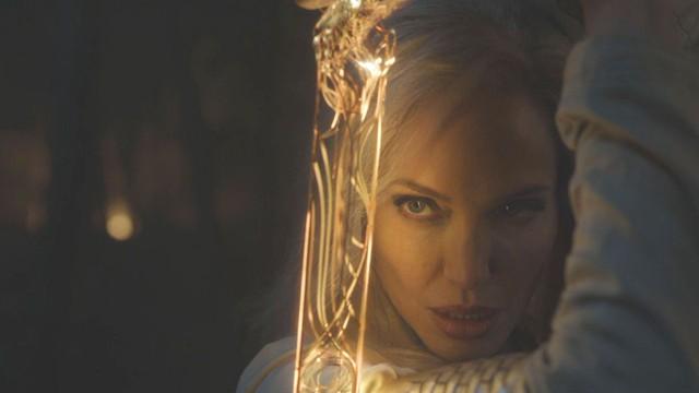 Eternals: CĐM hết lời khen ngợi visual quá đỉnh của Angelina Jolie khi vào vai nữ chiến binh Thena - Ảnh 4.