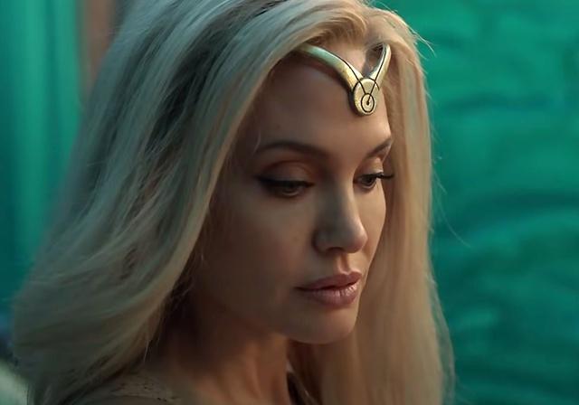 Eternals: CĐM hết lời khen ngợi visual quá đỉnh của Angelina Jolie khi vào vai nữ chiến binh Thena - Ảnh 3.