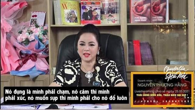 Điểm lại các phát ngôn ấn tượng của bà Phương Hằng trong livestream hot nhất đêm nay - Ảnh 4.