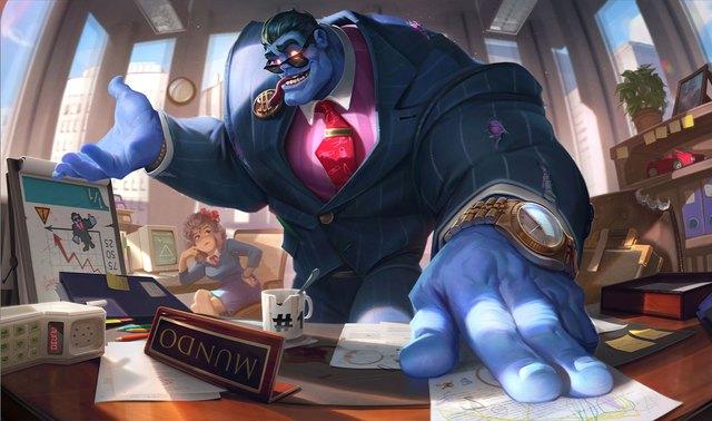 Chi tiết hình ảnh và kỹ năng của Dr. Mundo mới: Lại thêm một phiên bản siêu hút máu - Ảnh 5.