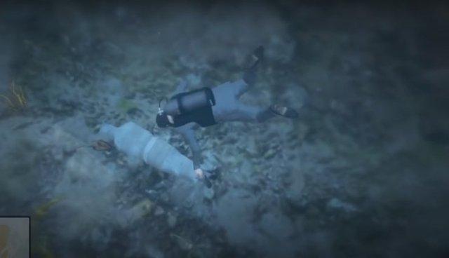 Hai bí mật rùng rợn nhất mà ít ai biết trong GTA V: Từ ma nữ trên đỉnh núi đến thi thể bí ẩn dưới đáy biển - Ảnh 3.