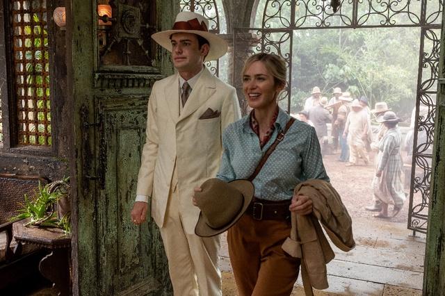 Cặp đôi hoàn cảnh The Rock và Emily Blunt thám hiểm rừng xanh trong trailer phim hành động Jungle Cruise - Ảnh 8.