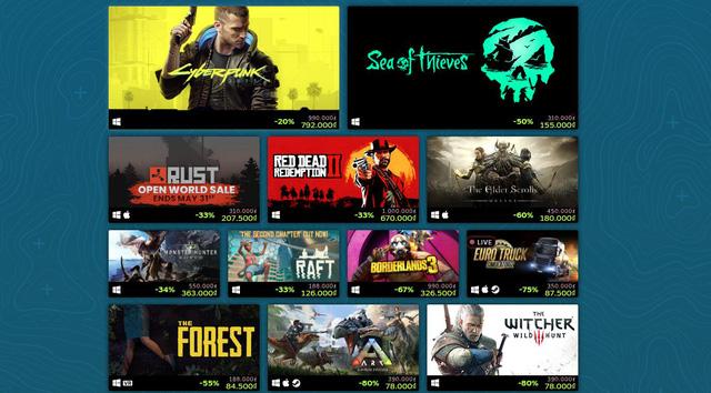 Steam mở đợt giảm giá cực sốc những bom tấn thế giới mở, game thủ mau mua về chơi hết hè này - Ảnh 1.