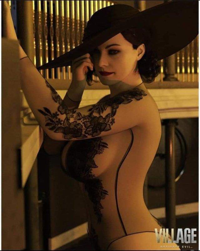 Game thủ Việt chia sẻ ầm ầm phiên bản Lady Dimitrescu cực kỳ sexy, gợi cảm đúng chất 18+ - Ảnh 4.