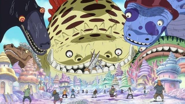 One Piece: Luffy rơi xuống biển, đối tượng nào có thể xuất hiện giải cứu main thoát khỏi hiểm nghèo? - Ảnh 3.