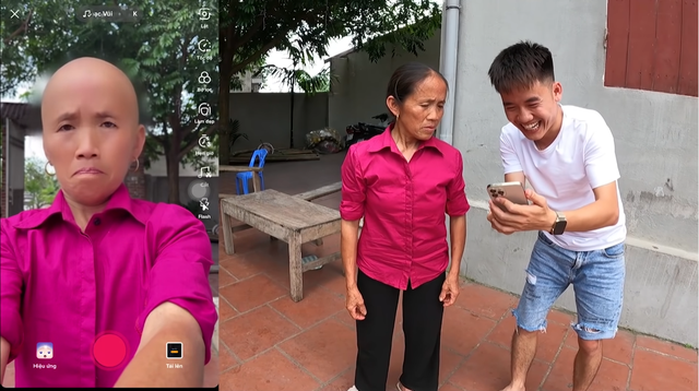 Hưng Vlog khiến fan choáng váng với clip troll gần đây, biến bà Tân Vlog thành trọc đầu - Ảnh 6.