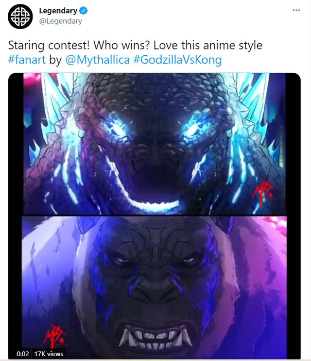 Cuộc chiến giữa Godzilla vs Kong sẽ có một phiên bản làm theo phong cách anime? - Ảnh 2.