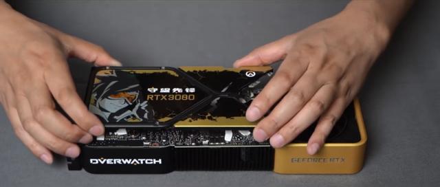 NVIDIA ra tay độ chiếc card đồ họa RTX 3080 Overwatch siêu chất, game thủ chỉ có nước trầm trồ - Ảnh 5.