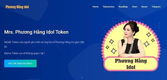 Bất ngờ xuất hiện loại tiền ảo mang tên bà Phương Hằng, tổng số lượng coin lên tới 26.000 tỷ - Ảnh 1.