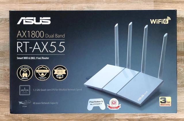 """Router ASUS RT-AX55: Công nghệ Wi-Fi 6 - """"Cặp đôi song sát cực mạnh"""" Base64-1620122312653372220629"""