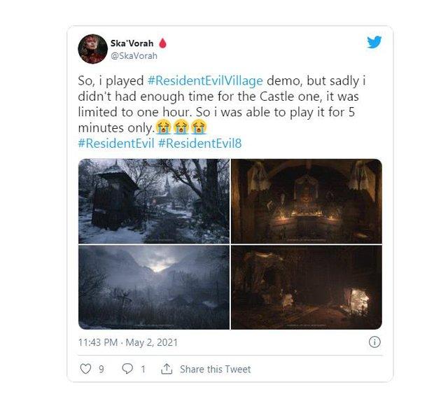 Resident Evil Village tung bản Demo miễn phí, tải và chơi ngay trên Steam - Ảnh 3.