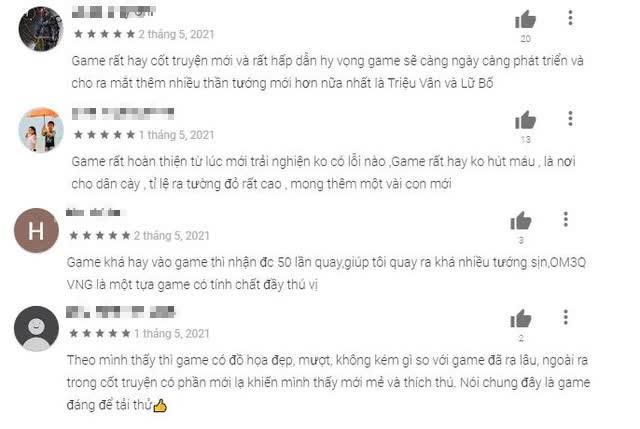 Tân OMG3Q VNG leo top trên BXH sau một tuần ra mắt, nhận mưa lời khen từ game thủ Việt - Ảnh 5.
