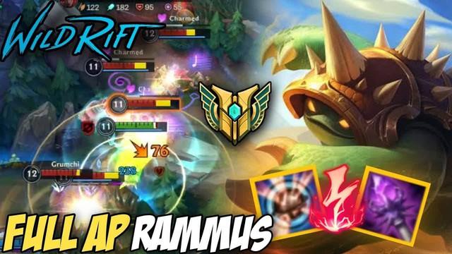 Tấu hài cực mạnh với lối chơi Rammus One-shot trong LMHT Tốc chiến - Ảnh 2.