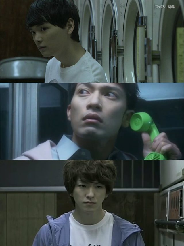 CĐM phát hãi với nhân vật cô gái váy đỏ đứng bốt điện thoại trong phim Nhật Bản, nhìn cái mặt đã muốn ói - Ảnh 2.