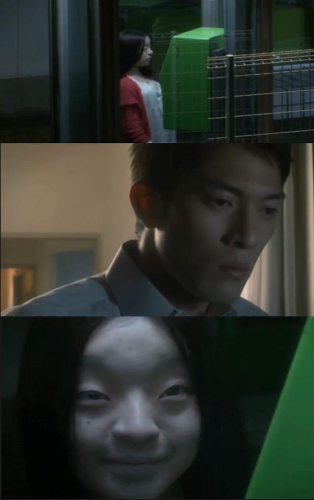 CĐM phát hãi với nhân vật cô gái váy đỏ đứng bốt điện thoại trong phim Nhật Bản, nhìn cái mặt đã muốn ói - Ảnh 6.