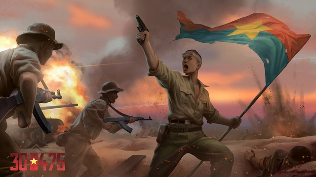 Cha đẻ 7554 công bố dự án game mới, lấy đề tài giải phóng miền Nam với tên gọi 300475 - Ảnh 1.